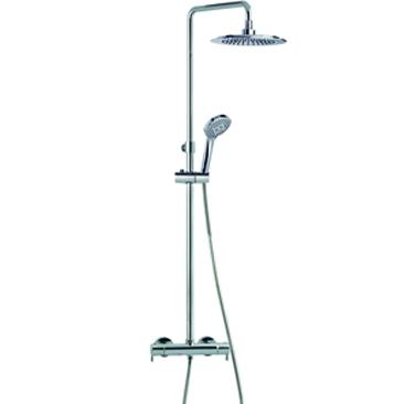 Columna dutxa termostatica rp240 gersal web for Columna termostatica
