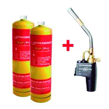 ROTHENBERGER PR3564400 KIT SOPLETE SUPER FIRE 2 + 2 MAPP US